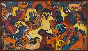 Untitled', Malangatana Ngwenya, 1967   Tate