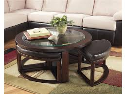Living Room Tables Sets This Cocktail Table With Stools Means No Set Up On Game Night