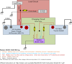 redarc wiring diagram all wiring diagrams baudetails info redarc bcdc 1220 20amp dc dc 3 stage battery charger install wiring diagram
