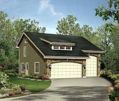 image of small garage with living quarters floor plans