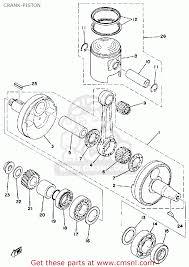 Yamaha dt125 1976 usa crank piston buy original crank piston rh cmsnl 1970 yamaha 125 enduro 1972 yamaha 125 enduro