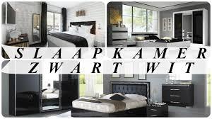 Zwart Wit Fotografie Slaapkamer Met Hout Witte Ideeen Behang Grijs