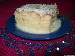 Receita de bolo gelado de coco e mel