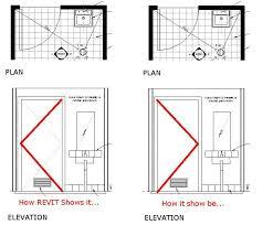image result for elevation symbol open door