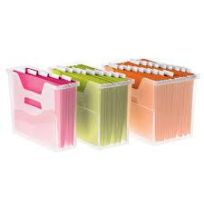 Office file boxes Hanging File Iris Opentop File Boxes The Container Store Iris Opentop File Boxes The Container Store