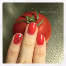 みん On Twitter 今の爪トマトみたいな色だなーと思ってたら夕ご飯に