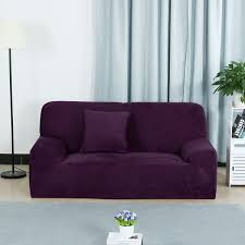 unique couch. Delighful Couch Unique Bargains LShaped Stretch Sofa Couch Slipcovers Purple Intended