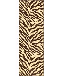 rugs usa reviews well woven kings court brown zebra animal print rug pertaining to plan customer