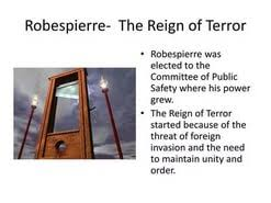 reign of terror essay  reign of terror essay