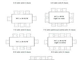 kitchen tables dimensions 6 dining table dimensions dining table size for 6 dining co 8 kitchen kitchen tables dimensions dining