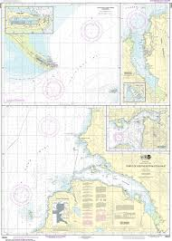 Noaa Nautical Chart 16646 Ports Of Southeastern Cook Inlet
