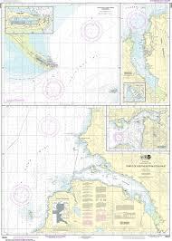 Southeast Alaska Nautical Charts Noaa Nautical Chart 16646 Ports Of Southeastern Cook Inlet