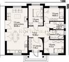 Проекты одноэтажного дома 10 на 15 фото