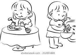 washing hands clip art black and white. Beautiful Hands Meal Time And Wash Hand Inside Washing Hands Clip Art Black And White S