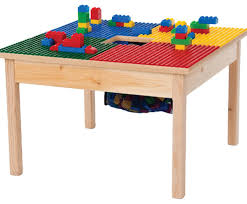 lego compatible play table with storage bag 27 x27 without play table