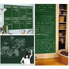 45x200cm removable blackboard stickers chalkboard wall sticker chalk board wall paper art mural decals chalk board paper lable wallpaper