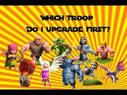 Clash Of Clans Troop Chart Clash Of Clans Which Troops To Upgrade First