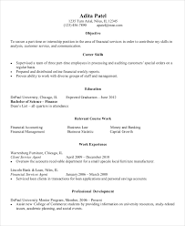 Resume Examples Entry Level Extraordinary Entry Level Resume For Finance Example Entry Level Resume Examples