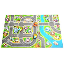 track rug kids race track rugs carpet play mat town road rug with cars and toys