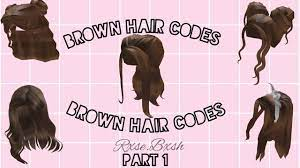 See more ideas about roblox codes, roblox, coding clothes. Brown Hair Codes For Bloxburg Part 1 Youtube