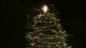 Christmas Tree Quotes Simple Holiday Spirit At Ford Museum Christmas Tree Lighting Fox48