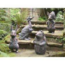 garden figures. Beatrix Potter Garden Figures O