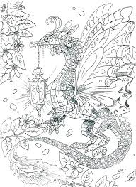 Cool Dragon Coloring Pages Free Printable Children For Kids Unicorn