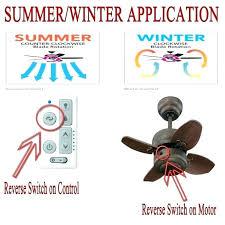 ceiling fan rotation direction of ceiling fan in summer ceiling fan orientation summer