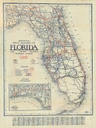 Florida Memory Clasons Guide Map Of Florida C 1927