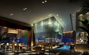 how to design lighting. Cool Restaurant Design With Modern Recessed Lighting Ideas How To
