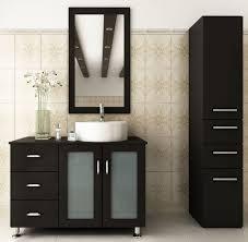 39 Bathroom Vanity Avola 39 Inch Vessel Sink Bathroom Vanity Espresso Finish