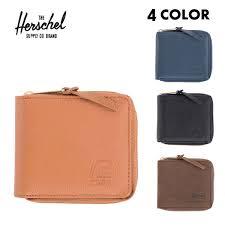 herschel supply herschel supply wallet two fold walt wallet leather 4 colors zip