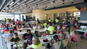 elementary school cafeteria. PHOTO: At Buckingham County Primary \u0026amp; Elementary Schools In Virginia, They Built The School Cafeteria I