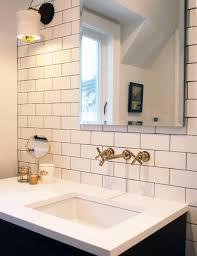 Design Sponge Bathrooms Before After A Light And Bright Tudor Remodel Designsponge