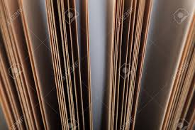 old book binding and page close up photo stock photo 91715003