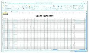 Budget Forecast Excel Spreadsheet Luxury Forecasting In Excel Sales