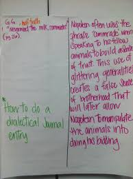 tales of teaching in heels dialectical journals dialectical journals