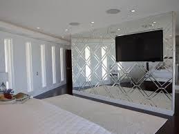 ... Mirrored Walls Ideas Extravagant 33 Custom Bedroom Mirrored Accent Wall    HGTV