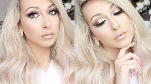 soft valentine s day makeup tutorial 2016 carli bybel palette lets learn makeup