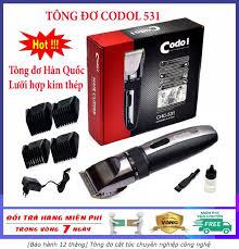 Bảo hành 12 tháng] Tông đơ cắt tóc chuyên nghiệp công nghệ Hàn Quốc Codol  531 tăng đơ cắt tóc hớt tóc không dây sạc pin tông đơ codos cho gia đình