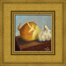 Kitchen Painting Kitchen Painting Onion And Garlic 001a The Daily Painter