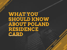 poland residence card pr