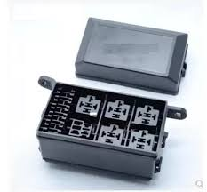 auto fuse box 6 relay relay holder 5 road the nacelle insurance waterproof auto relay box at Fuse Box Relays