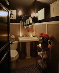 half bathroom ideas brown. black and white half bath ideas bathroom brown