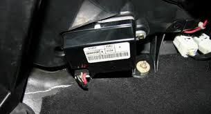 air conditioning blower motor connection replacement blower motor control module location below glovebox