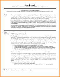 11 Pharmaceutical Sales Representative Resumes Letter Adress