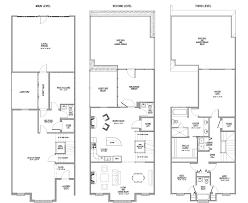 modern 2 bedroom apartment floor plans lovely townhouse floor plans story townhouse floor plans story