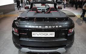 First Look: Land Rover Range Rover Evoque Convertible Concept ...