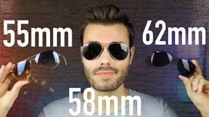 Ray Ban Aviator 3025 Size Chart Ray Ban Aviator Size Comparison Rb3025 55mm Vs 58mm Vs 62mm