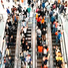 people on escalators. people on escalators a